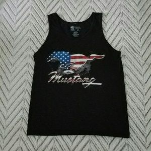 Mustang Stars and Stripes Tank Top